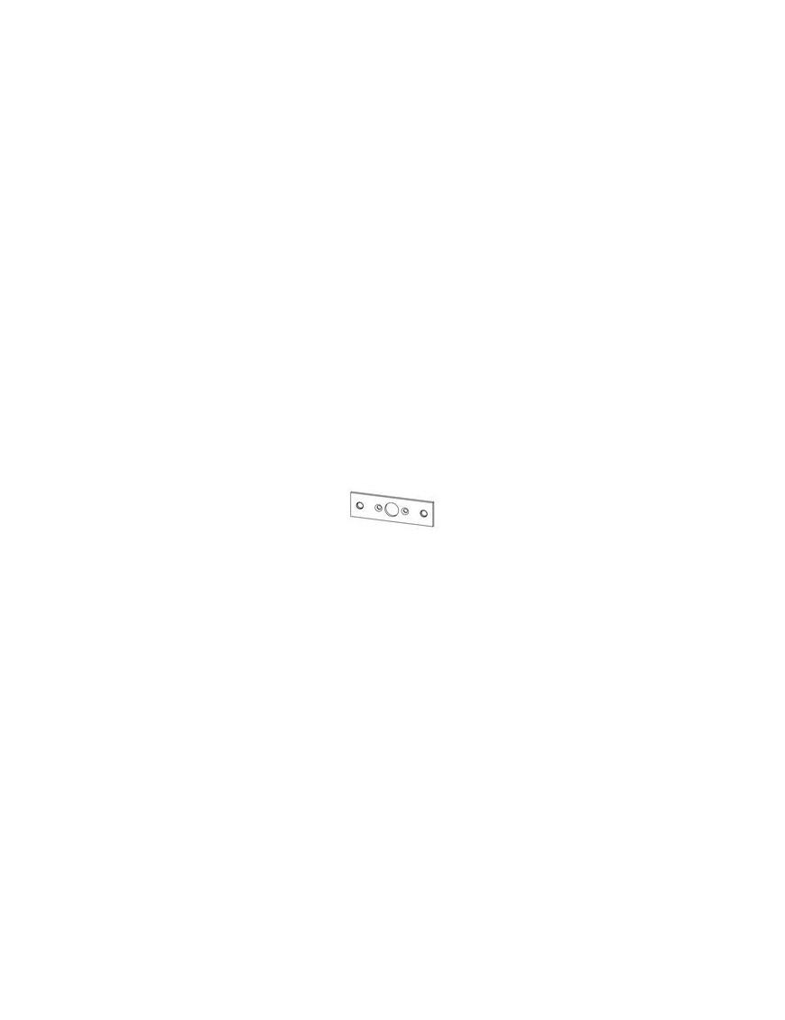 Lagerplatte für Verbindungslager Mini 57012