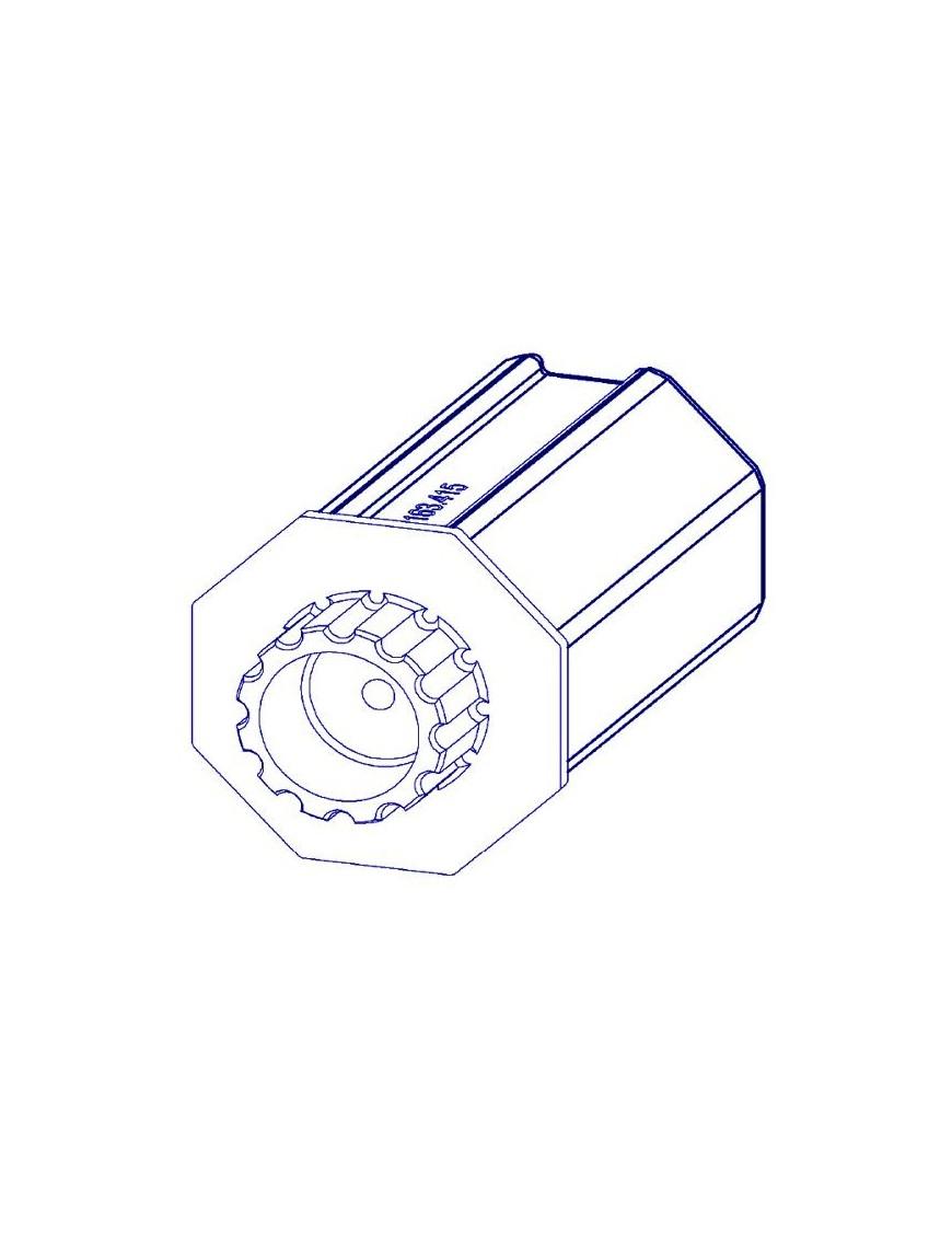 Mitnehmer für 12V  Rohrmotor T10