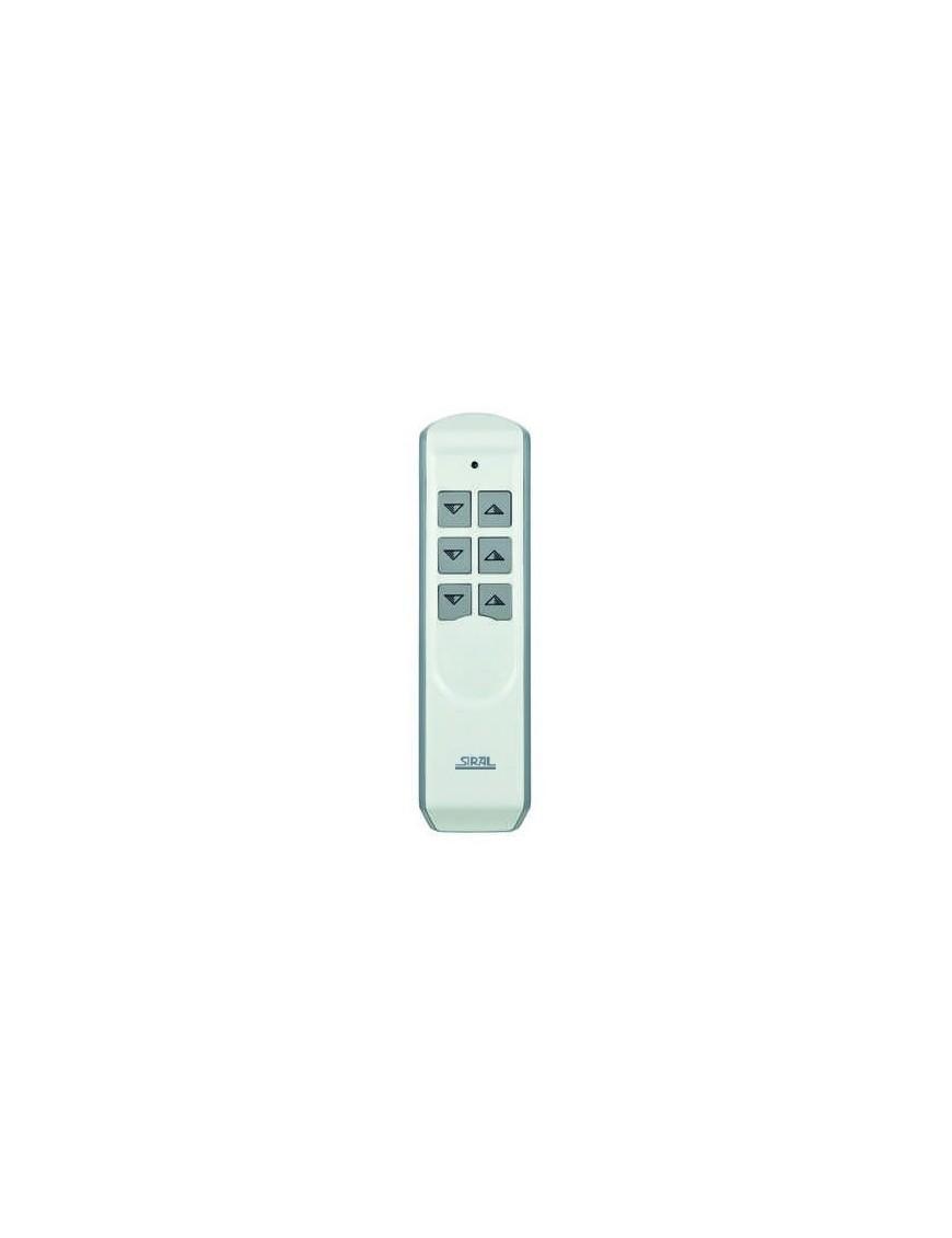 Komfort Handsender 6-Kanal weiß oder schwarz