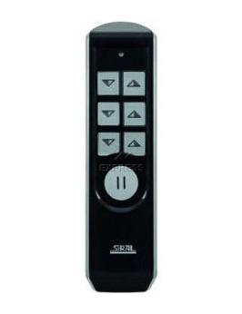Komfort Handsender 6-Kanal weiss oder schwarz mit Sonderfunktion +